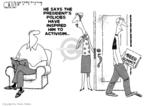 Cartoonist Steve Kelley  Steve Kelley's Editorial Cartoons 2009-07-31 James
