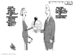 Cartoonist Steve Kelley  Steve Kelley's Editorial Cartoons 2009-08-07 North Korea