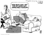 Cartoonist Steve Kelley  Steve Kelley's Editorial Cartoons 2009-08-10 trade