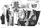 Cartoonist Steve Kelley  Steve Kelley's Editorial Cartoons 2009-10-29 flight