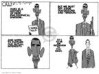 Cartoonist Steve Kelley  Steve Kelley's Editorial Cartoons 2009-11-19 aside