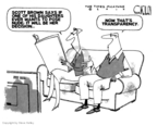 Cartoonist Steve Kelley  Steve Kelley's Editorial Cartoons 2010-02-02 brown