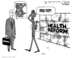 Cartoonist Steve Kelley  Steve Kelley's Editorial Cartoons 2010-03-12 wall