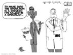 Cartoonist Steve Kelley  Steve Kelley's Editorial Cartoons 2010-03-24 glove