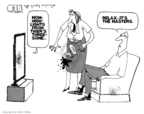 Cartoonist Steve Kelley  Steve Kelley's Editorial Cartoons 2010-04-11 political scandal