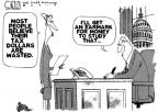Cartoonist Steve Kelley  Steve Kelley's Editorial Cartoons 2010-04-16 pork-barrel