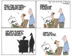 Cartoonist Steve Kelley  Steve Kelley's Editorial Cartoons 2010-06-08 officer