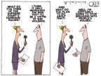 Cartoonist Steve Kelley  Steve Kelley's Editorial Cartoons 2010-06-29 gun