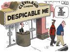 Cartoonist Steve Kelley  Steve Kelley's Editorial Cartoons 2010-07-11 professional athlete