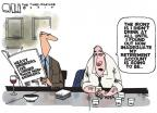 Cartoonist Steve Kelley  Steve Kelley's Editorial Cartoons 2010-09-02 irony