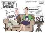 Cartoonist Steve Kelley  Steve Kelley's Editorial Cartoons 2010-11-20 husband