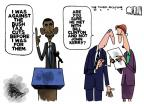 Cartoonist Steve Kelley  Steve Kelley's Editorial Cartoons 2010-12-14 John Kerry