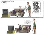 Cartoonist Steve Kelley  Steve Kelley's Editorial Cartoons 2011-01-13 fitness