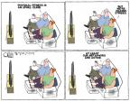 Cartoonist Steve Kelley  Steve Kelley's Editorial Cartoons 2011-02-22 fitness