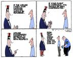 Cartoonist Steve Kelley  Steve Kelley's Editorial Cartoons 2011-04-21 regulation