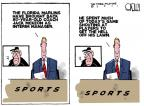 Cartoonist Steve Kelley  Steve Kelley's Editorial Cartoons 2011-06-21 baseball game