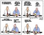 Cartoonist Steve Kelley  Steve Kelley's Editorial Cartoons 2011-07-13 voter