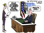 Cartoonist Steve Kelley  Steve Kelley's Editorial Cartoons 2011-07-28 2012 election