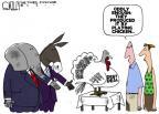 Cartoonist Steve Kelley  Steve Kelley's Editorial Cartoons 2011-08-02 play