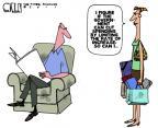 Steve Kelley  Steve Kelley's Editorial Cartoons 2011-08-03 personal finance
