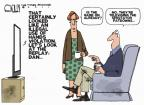 Cartoonist Steve Kelley  Steve Kelley's Editorial Cartoons 2011-09-18 use