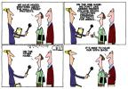Cartoonist Steve Kelley  Steve Kelley's Editorial Cartoons 2011-10-13 on the other hand