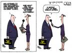 Cartoonist Steve Kelley  Steve Kelley's Editorial Cartoons 2011-11-03 card