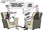 Steve Kelley  Steve Kelley's Editorial Cartoons 2011-12-07 2012 election economy