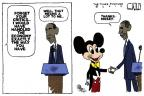 Cartoonist Steve Kelley  Steve Kelley's Editorial Cartoons 2012-01-22 president