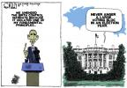 Cartoonist Steve Kelley  Steve Kelley's Editorial Cartoons 2012-02-12 president
