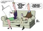 Cartoonist Steve Kelley  Steve Kelley's Editorial Cartoons 2012-02-23 game