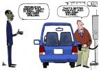 Cartoonist Steve Kelley  Steve Kelley's Editorial Cartoons 2012-02-26 president