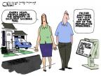 Cartoonist Steve Kelley  Steve Kelley's Editorial Cartoons 2012-03-11 2012 primary