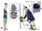Cartoonist Steve Kelley  Steve Kelley's Editorial Cartoons 2012-03-18 Mardi Gras