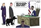 Cartoonist Steve Kelley  Steve Kelley's Editorial Cartoons 2012-05-01 president