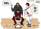 Cartoonist Steve Kelley  Steve Kelley's Editorial Cartoons 2012-05-02 baseball