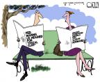Cartoonist Steve Kelley  Steve Kelley's Editorial Cartoons 2012-05-03 president