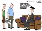 Cartoonist Steve Kelley  Steve Kelley's Editorial Cartoons 2012-05-06 education