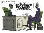 Cartoonist Steve Kelley  Steve Kelley's Editorial Cartoons 2012-06-24 gun