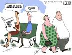 Cartoonist Steve Kelley  Steve Kelley's Editorial Cartoons 2012-08-23 food consumption