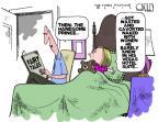 Cartoonist Steve Kelley  Steve Kelley's Editorial Cartoons 2012-08-24 Las Vegas
