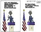 Cartoonist Steve Kelley  Steve Kelley's Editorial Cartoons 2012-09-20 2012 election religion