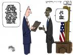 Cartoonist Steve Kelley  Steve Kelley's Editorial Cartoons 2012-10-08 2012 election