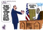 Cartoonist Steve Kelley  Steve Kelley's Editorial Cartoons 2012-10-18 2012 election