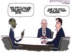 Cartoonist Steve Kelley  Steve Kelley's Editorial Cartoons 2012-10-24 2012 election economy