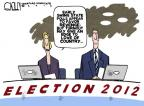Cartoonist Steve Kelley  Steve Kelley's Editorial Cartoons 2012-11-06 2012 election