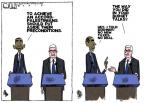 Cartoonist Steve Kelley  Steve Kelley's Editorial Cartoons 2013-03-22 president