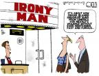Cartoonist Steve Kelley  Steve Kelley's Editorial Cartoons 2013-05-06 gun