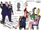 Cartoonist Steve Kelley  Steve Kelley's Editorial Cartoons 2013-05-15 partisan