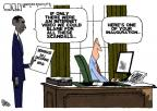 Cartoonist Steve Kelley  Steve Kelley's Editorial Cartoons 2013-05-23 president